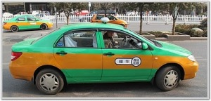 Current legal taxi models and colour